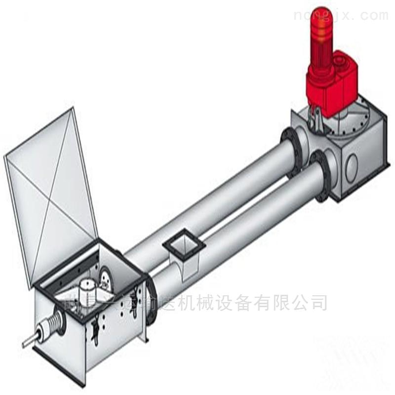 热电厂飞灰管链传送机  无缝管盘片式上料机