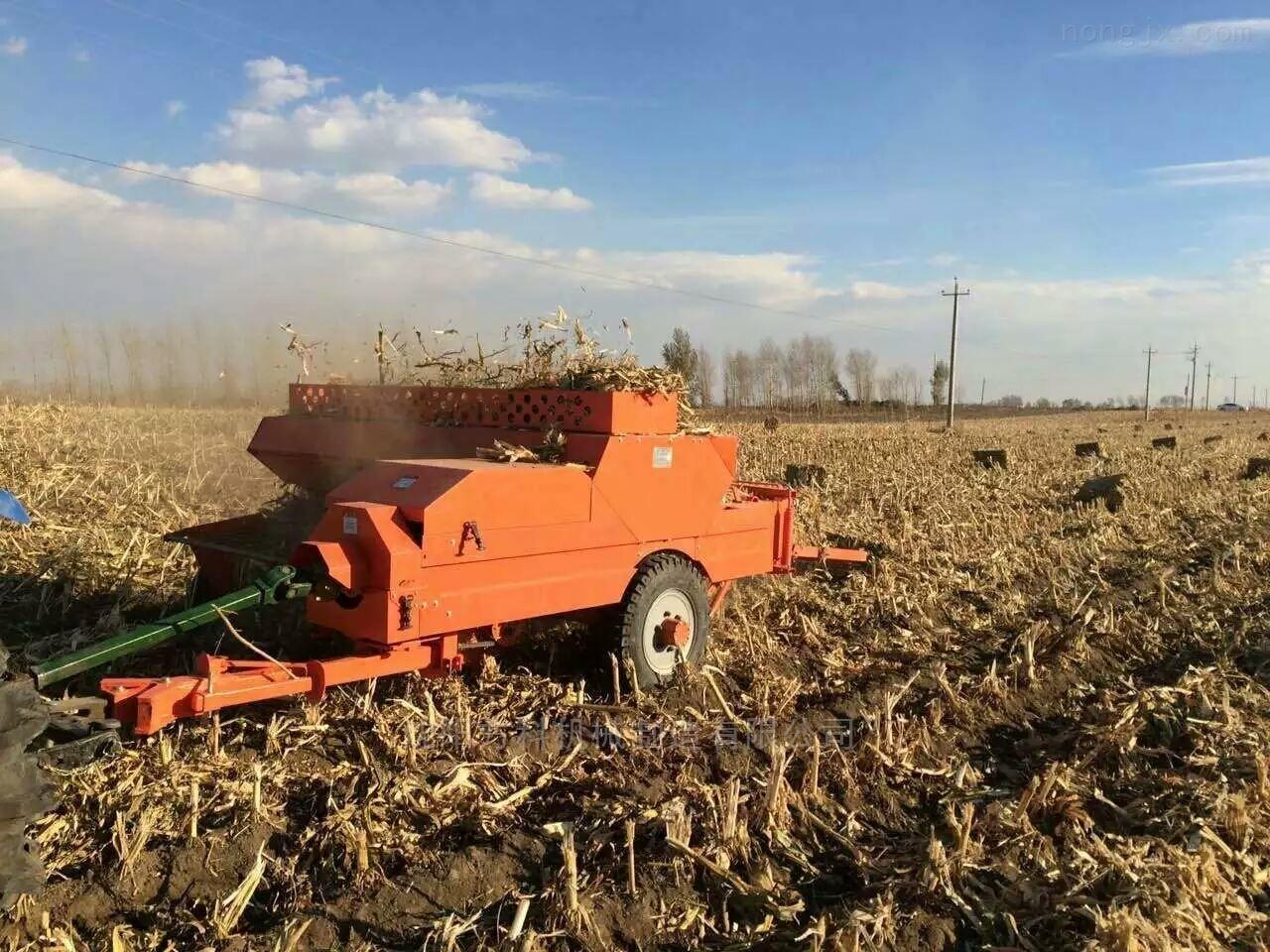 大型方捆麦草秸秆自动捡拾打捆机