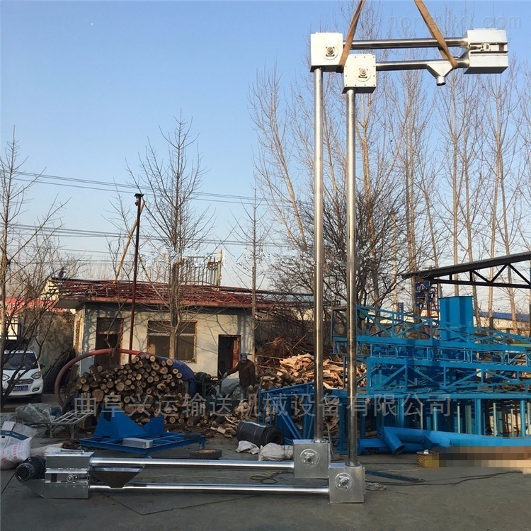 优质管链输送机生产商Z型管链提升机Lj7