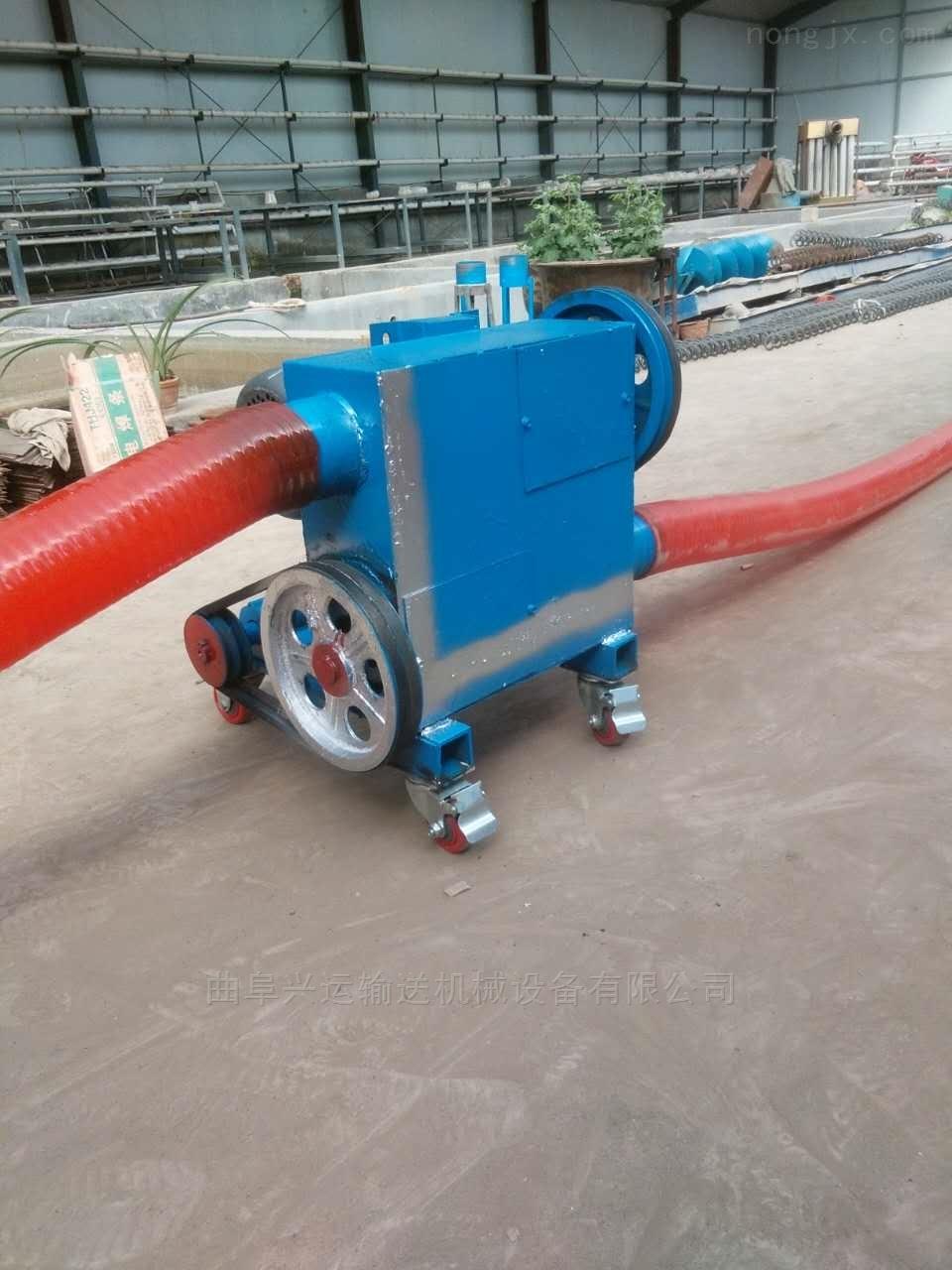 多功能车载软管吸粮机双驱动车载抽粮机Lj7