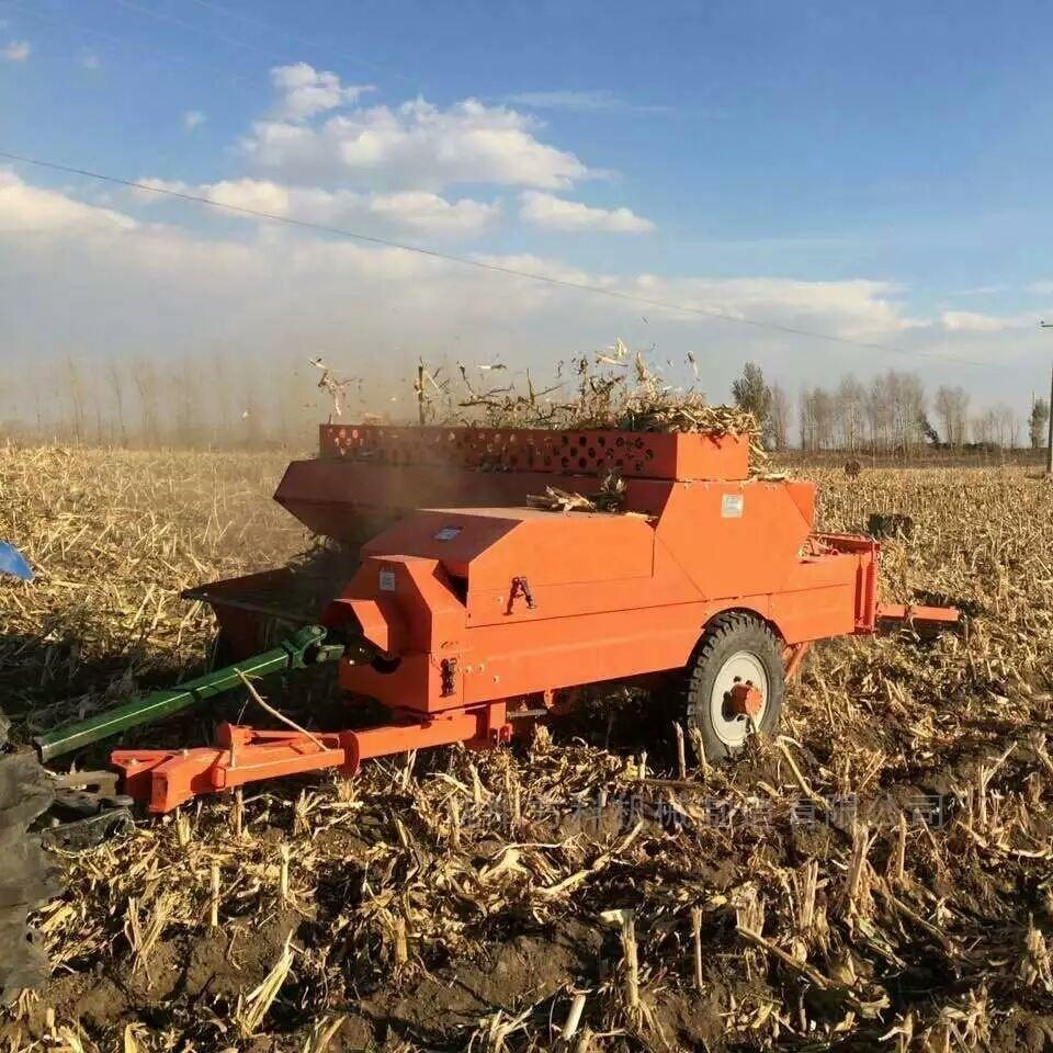 麦草秸秆自动捡拾方捆打捆机