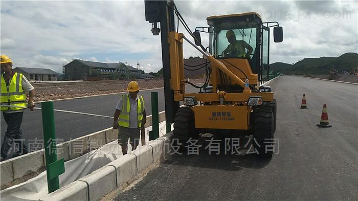 陝西公路裝載打樁機打孔機