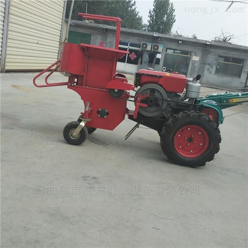 柴油苞米扒皮收获机 单行玉米收割机参数