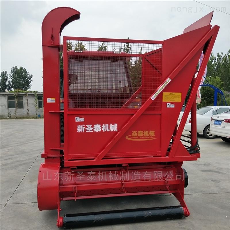 ST-1300-小四轮拖拉机玉米秸秆收割机 靑储机设备