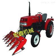 新款稻麦割晒机多功能四轮带动割台价格