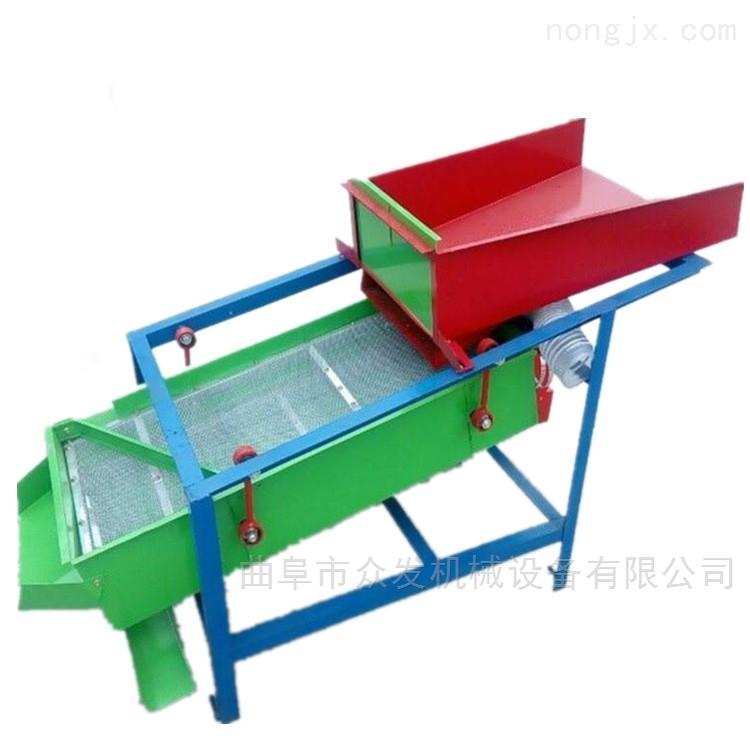 雙層震動糧食精選機 多功能玉米除雜篩選機