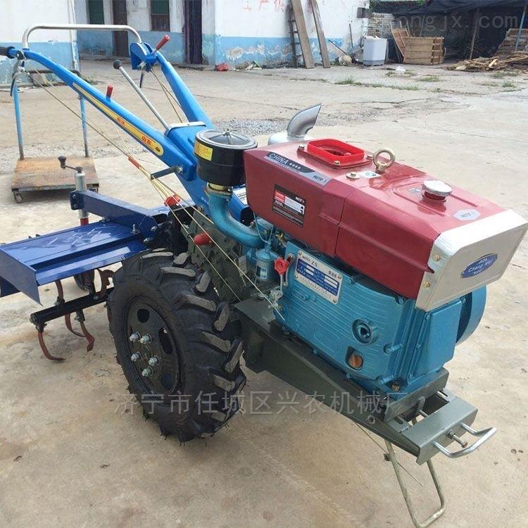 8马力手扶拖拉机旋耕机大型玉米秸秆粉碎机