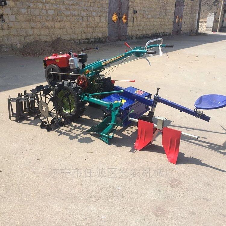 12馬力手扶拖拉機農用玉米秸稈粉碎還田機