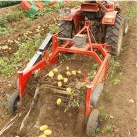 易操作手扶车带地瓜土豆收获机