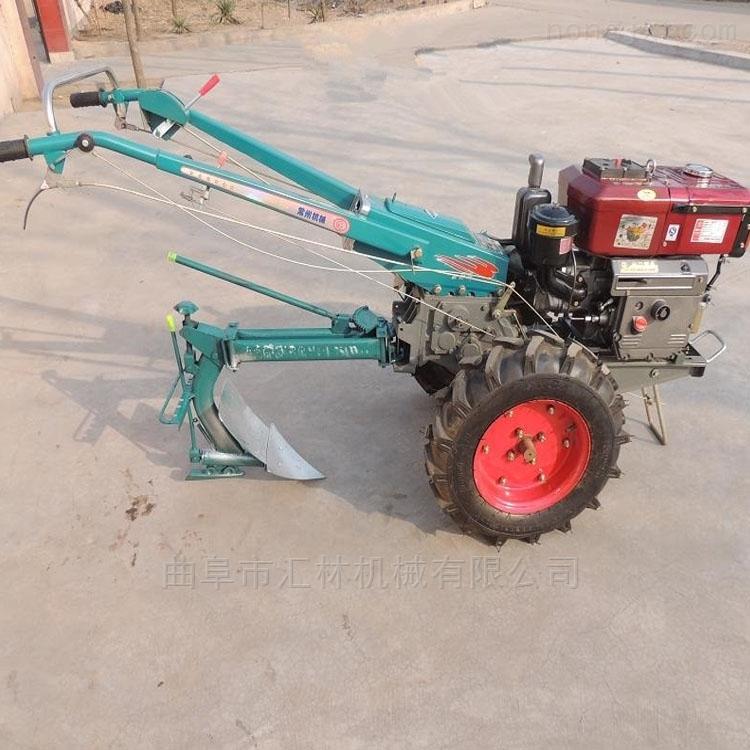 18馬力手扶拖拉機帶動旋耕機
