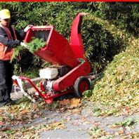 绿化←带园林树枝粉碎机