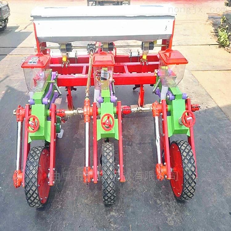 四轮4行玉米精播机 多功能播种机价格