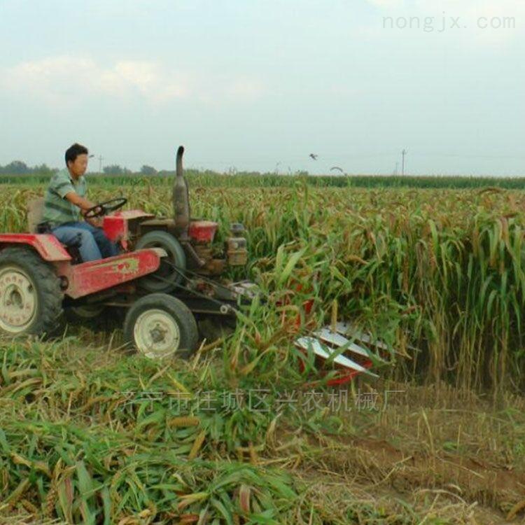 蘆葦玉米秸稈粉碎還田機水稻小麥秸稈收割機