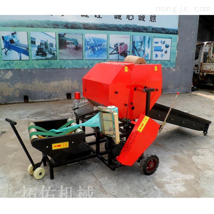 新型农业秸秆收获机械打捆包膜机机械价格
