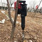 xnxj-30手提式链条带土球挖树机大马力起树机
