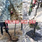 xnxj-30带土球移栽挖树机现货供应小型手提断根机