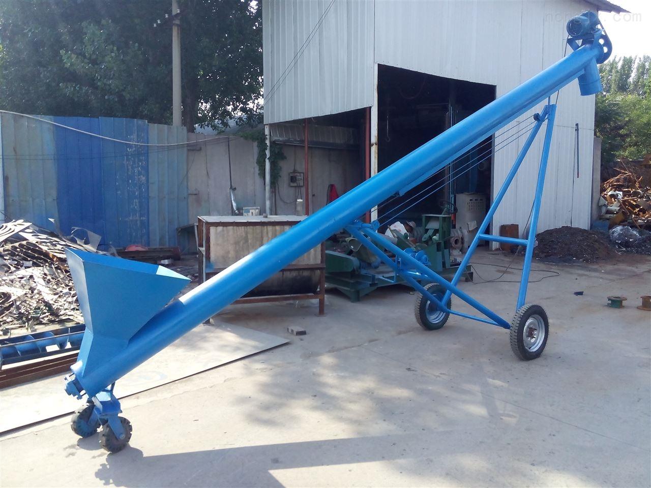 专业生产螺旋提升机厂家 不锈钢螺杆上料机