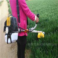 节能农民成本割草机 两冲程玉米地除草机
