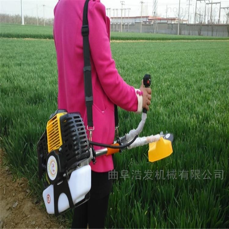 农用果园背负式割草机 黄烟种植汽油除草机