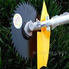 背在身上的汽油割草机 小巧机身稻麦收割机