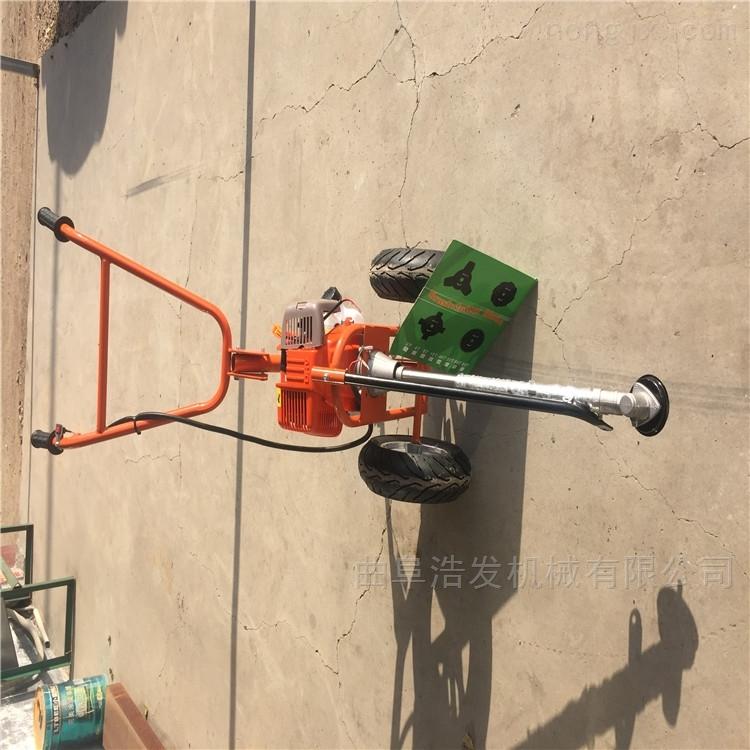 四沖程背負式牧草收割機 更換工作頭割草機