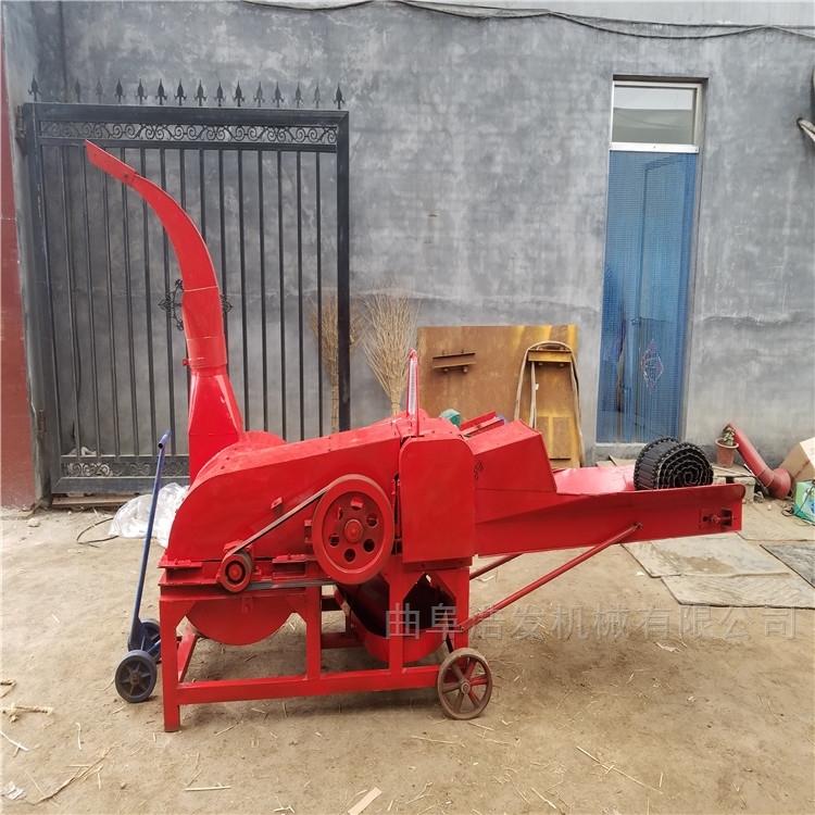 高喷式自动装车铡草机 畜牧养殖稻草揉搓机