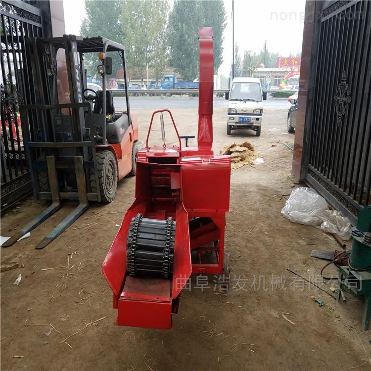 电机柴油机带动铡草机 移动方便青贮碎草机
