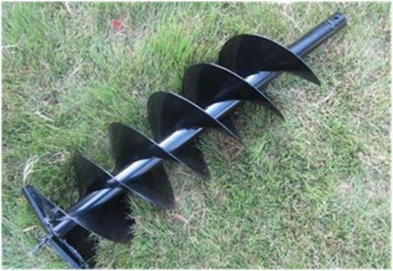电杆钻孔机果园挖坑机 产能高