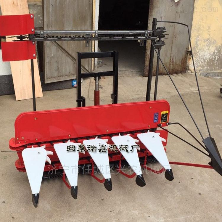 四轮芦苇割倒机 自走式谷物收割机