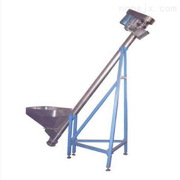 垂直螺旋提升机 大提升量不锈钢螺旋加料机固定型杂粮xy1螺旋提升机