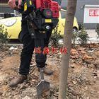 园林树木种植移栽带土球挖树机