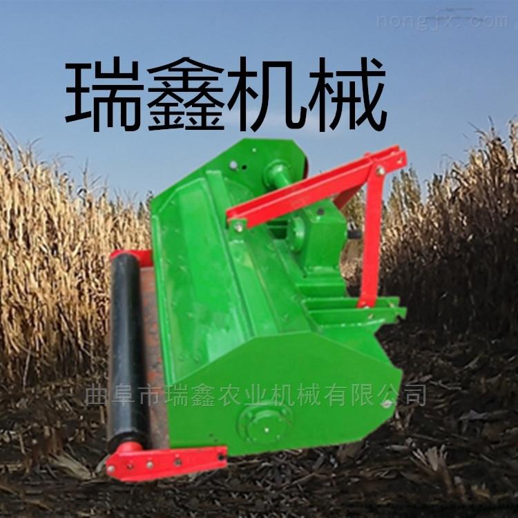 玉米粉碎还田机 四轮带杂草棉花秸秆灭茬机