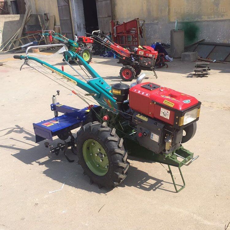 新款农用多功能拖拉机常柴柴油手扶旋耕机