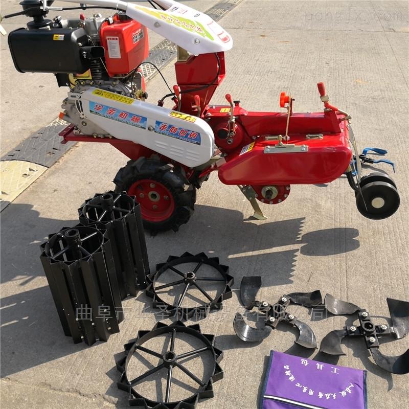 小型开沟培土机 柴油操作耐用开沟机