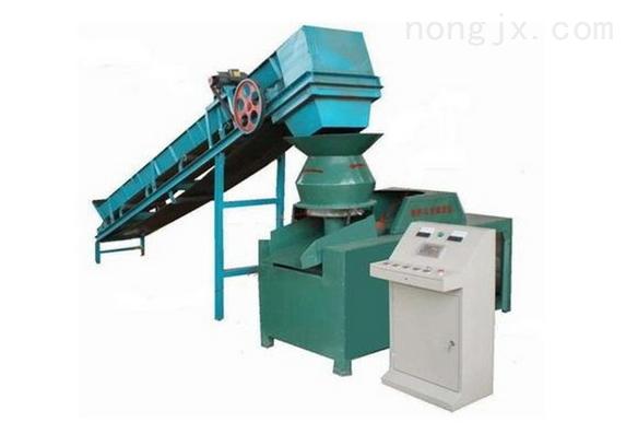 荆州制棉秆压块机 动力强劲生物煤成型机