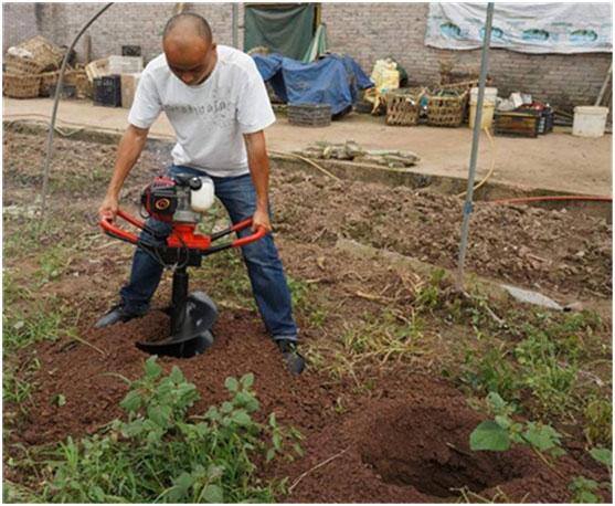 电线杆挖坑机农业种植机械 型号