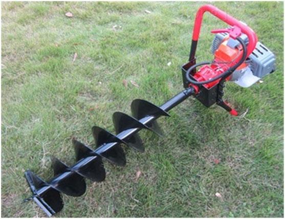 多用途植树挖坑机方便携带汽油钻坑机 效率