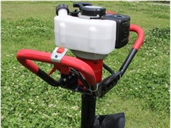 自貢拖拉機鑽樹坑機 汽油挖坑刨坑設備源頭