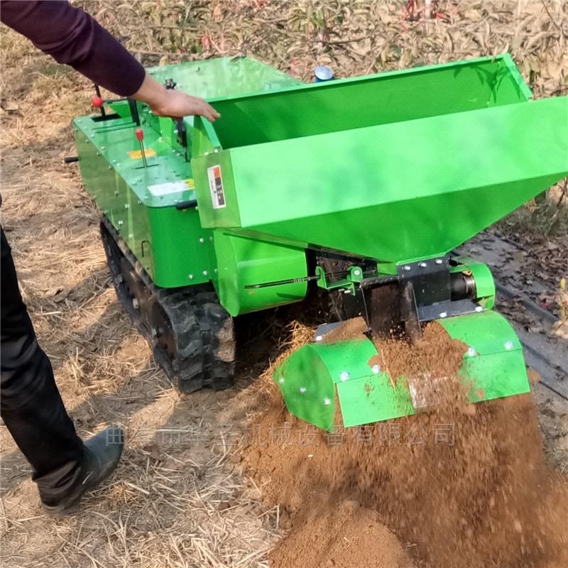 履带耕作施肥机 柴油耐用省力果园开沟机