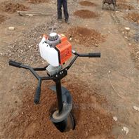 冻土硬土地打孔机 栽杆子立桩挖坑机厂家