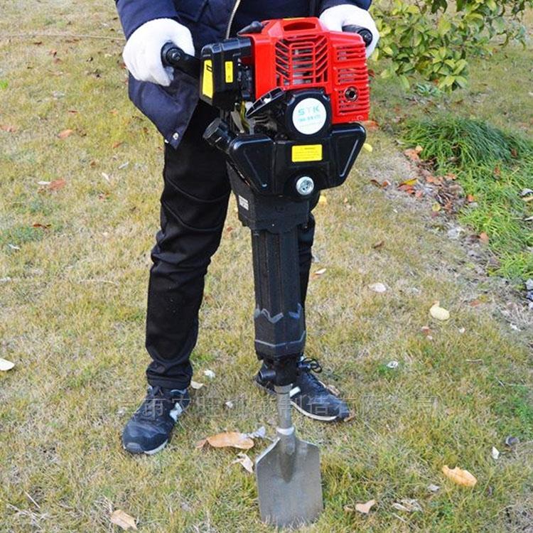 园林栽种铲树机 汽油带土球起苗机