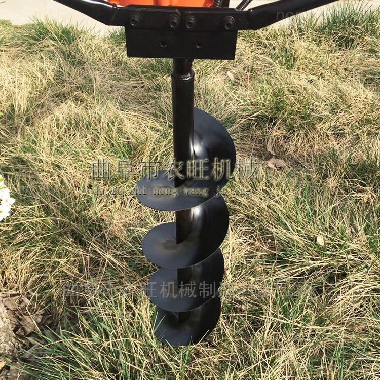 立柱多功能植树挖坑机 树木移植种植机