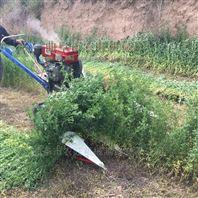 農旺牌自走柴油艾草割曬機多功能油菜收割機