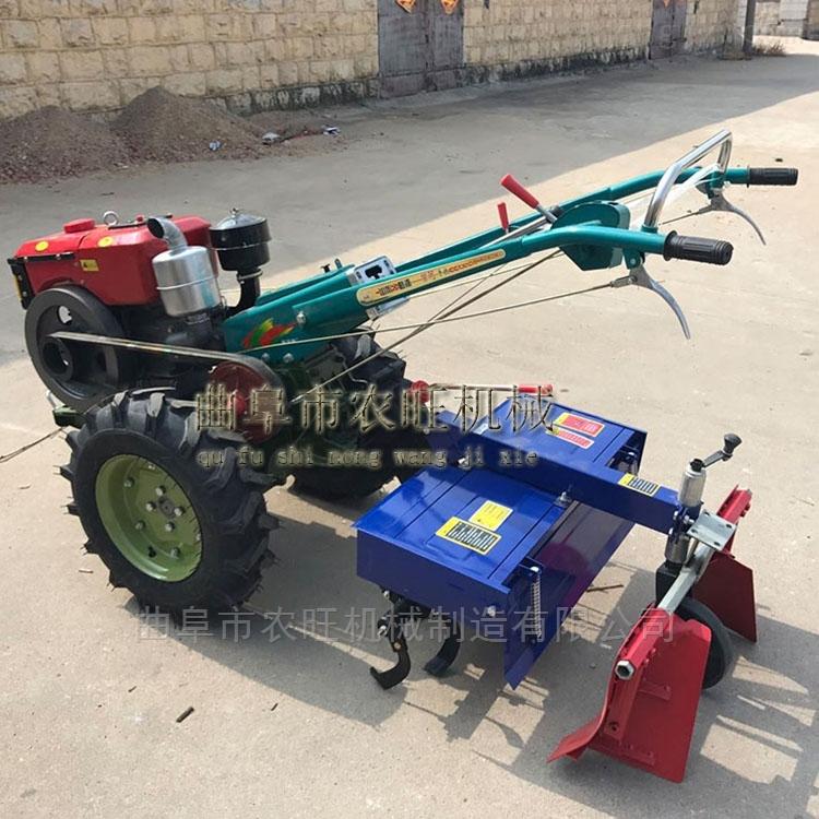 小型手扶耕地犁地机  柴油农用拖拉机