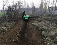 履带旋耕 除草 开沟 回填 施肥机农用新工具