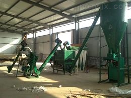 临沂成套复合肥生产设备机组粉碎搅拌计量灌装一条龙