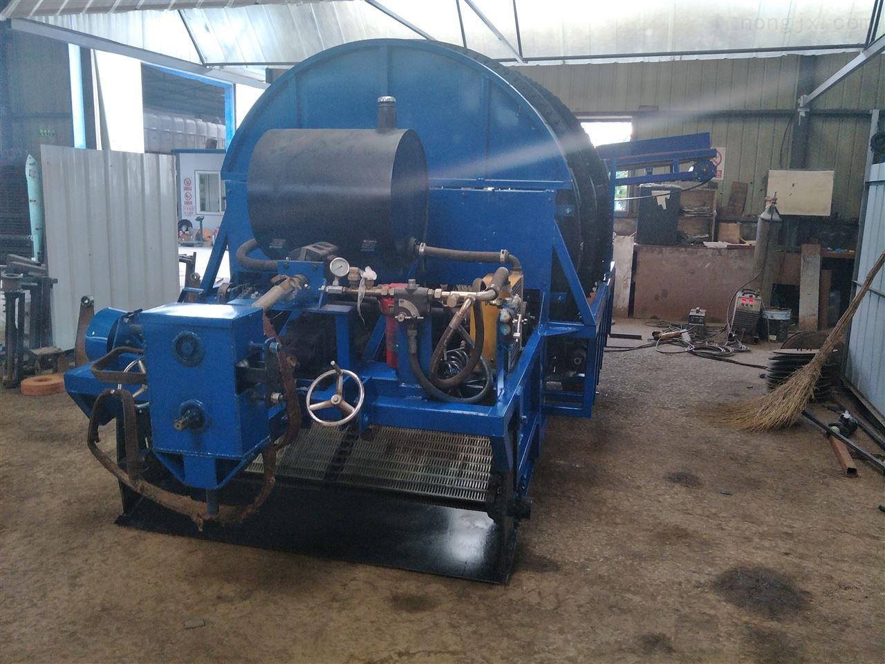 撿石機帶自動裝車農用土地耕整機械復墾機械