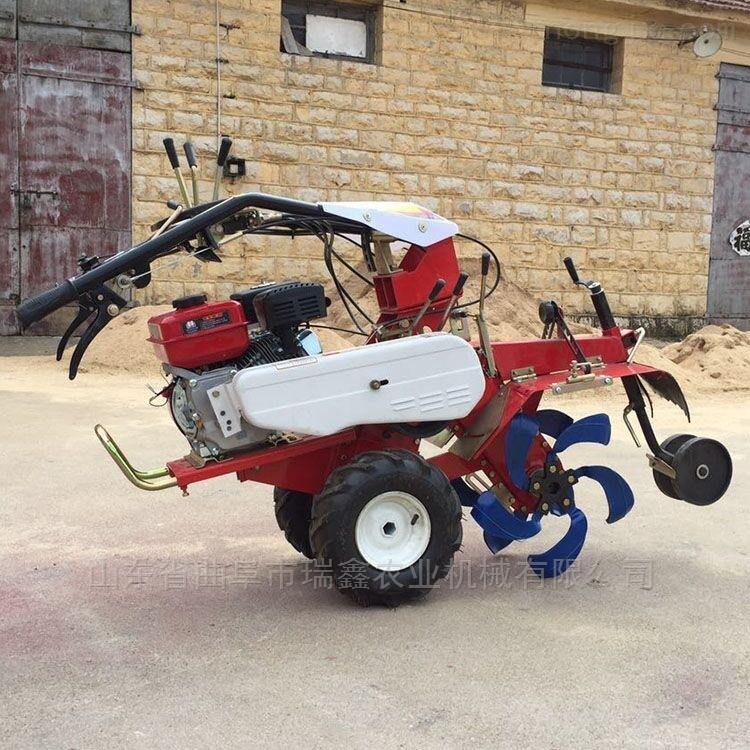 用途广泛自走式田园管理机 大葱开沟培土机