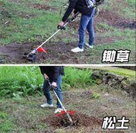 家用小型割草机 背负式除草松土机工作视频
