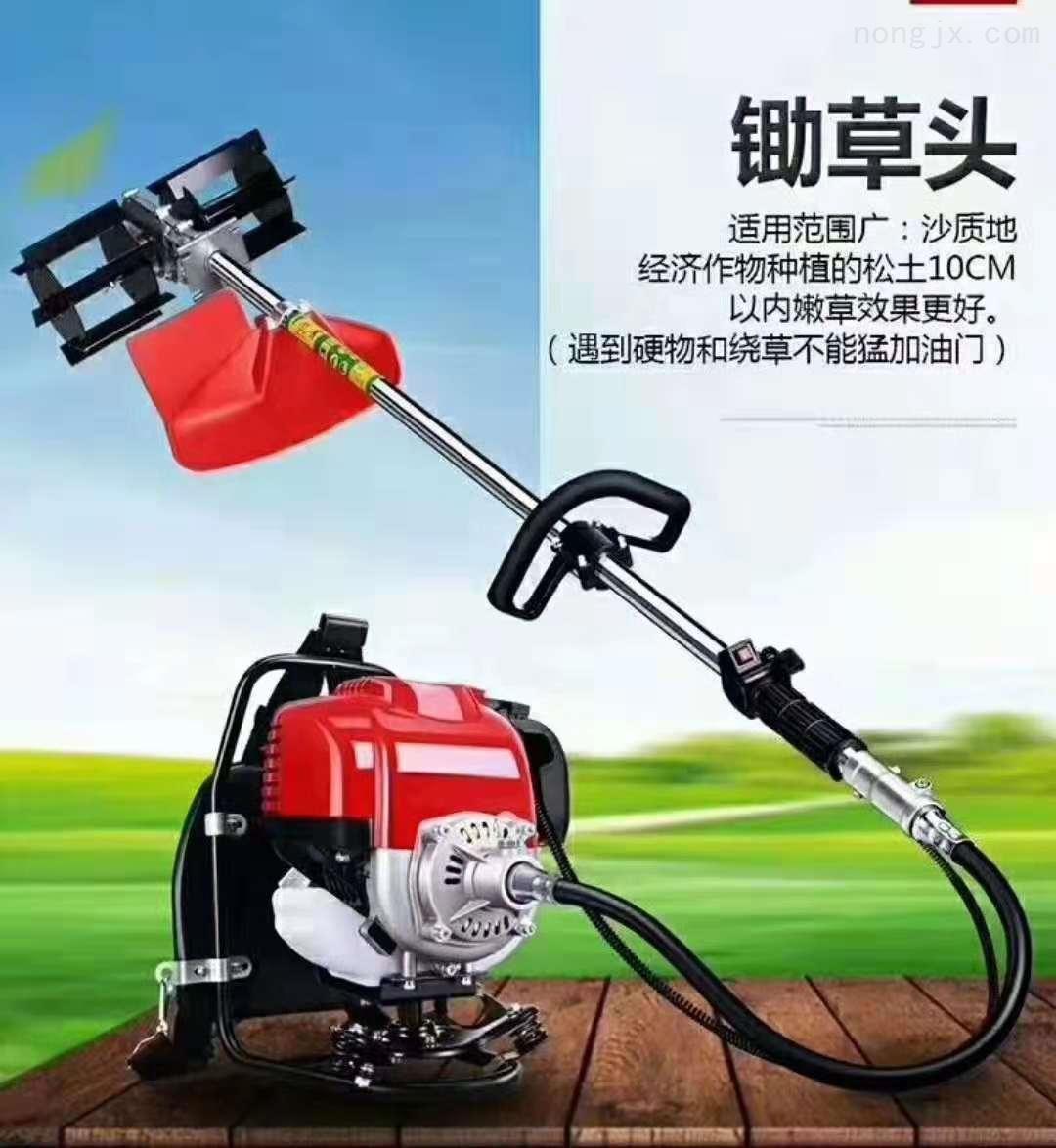 RZ GC-1-农用背负割草机 一机多头的除草松土机